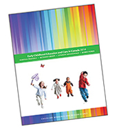 Cover of 'Early childhood education and care in Canada 2014'